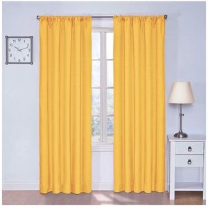 Eclipse Kids Blackout Curtain - Sunny Day Yellow
